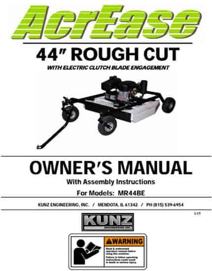 MR44BE manual 2019