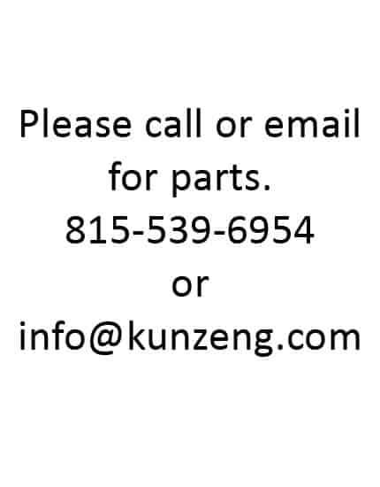 Please Call or Email for Parts AcrEase Models 3700 3701