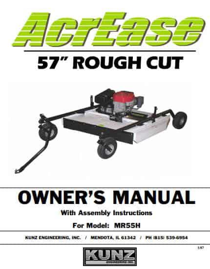 MR55H Manual