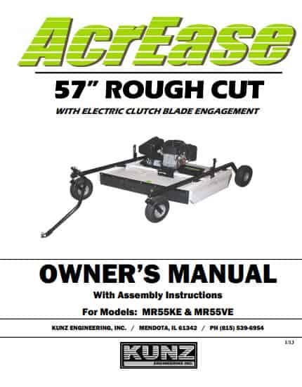 MR55KE MR55VE 2013 manual