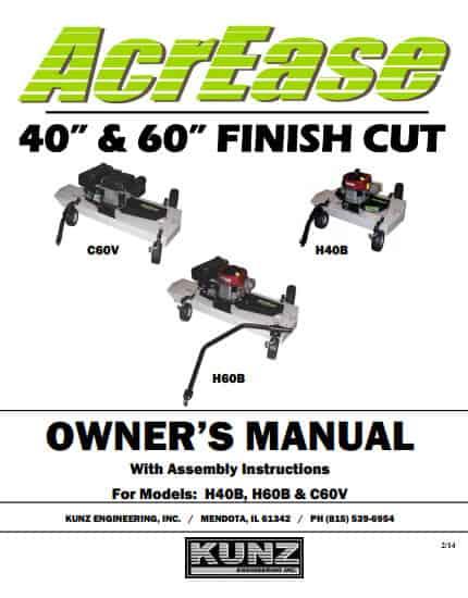Finish Mower Manual 2014